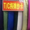 TC纬弹纱卡涂膜 16*200D+40D 57″ 230g/㎡ 磨毛 抗皱/免烫 抗紫外线/UV整理 衬衫 风衣/夹克