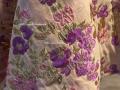 提花浮雕布料做一件连衣裙的量