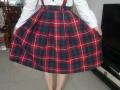 苏格兰的,棉的,要加长裙摆